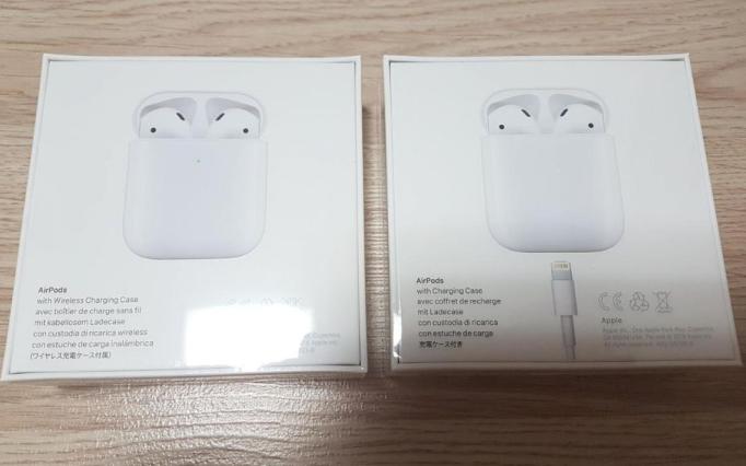애플코리아 에어팟2세대 무선 유선충전 미개봉